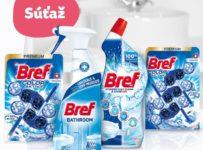Súťaž o 5 balíčkov produktov Bref