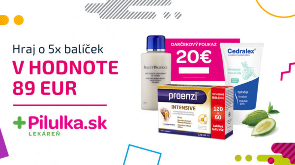 Súťaž o 5x balík beauty produktov v hodnote 69 €
