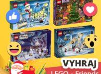 Súťaž o Adventný kalendár LEGO Friends 41353