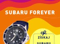 Súťaž o SUBARU hodinky