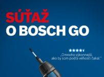 Súťaž o aku skrutkovač Bosch GO