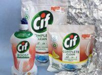 Súťaž o balíček 3 produktov do umývačky riadu Cif