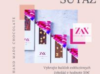 Súťaž o balíček exkluzívnych čokolád v hodnote 50€