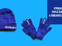 Súťaž o čiapku a rukavice Suzuki