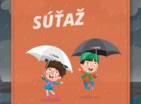 Súťaž o dva krásne dáždniky s logom 123Kuriér