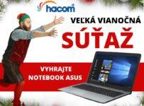 Súťaž o nový notebook ASUS pod stromček