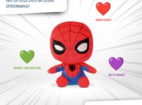 Súťaž o plyšovú postavičku superhrdinu Spiderman