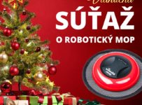Súťaž o robotický mop Vileda
