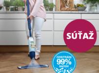 Súťaž o skvelý Bona Spray Mop na drevené podlahy