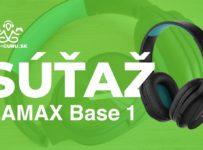 Súťaž o slúchadlá LAMAX Base 1