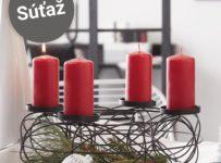 Súťaž o stojan na sviečky
