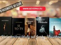 Súťaž o tituly Jarmily Slovákovej v hodnote 81€