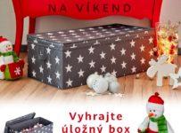 Súťaž o úložný box na Vianočné gule značky Love It Store