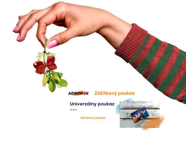 Súťaž o ADROP darčekový poukaz v hodnote 30€