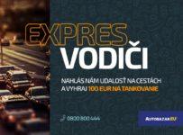 Súťaž s Dopravným servisom – Vyhraj 100 EUR na tankovanie