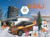Veľká vianočná súťaž s Chodník korunami stromov