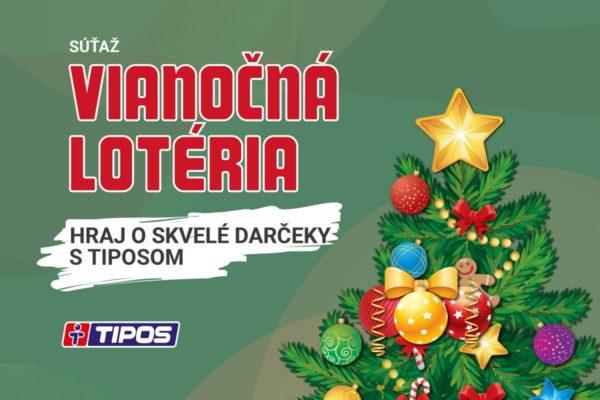 Vianočná lotéria s TIPOSom