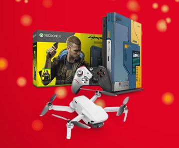 Vianočná súťaž Tesco o hernú konzolu X-box a dron DJI