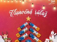 Vianočná súťaž o balíček tuniakových výrobkov Sun&Sea