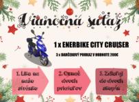 Vianočná súťaž o elektrický bicykel