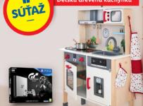 Vyhrajte Playstation 4 alebo Detskú drevenú kuchynku