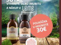 Vyhrajte produkty AVITA na posilnenie imunity