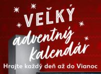 Kaufland adventný kalendár 2020 o 730 úžasných výhier
