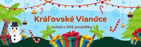 Gorila Kráľovské Vianoce, súťaž o desať poukážok v celkovej hodnote 500€