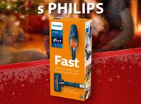 Mikulášska súťaž o tyčový vysávač Philips FC6724
