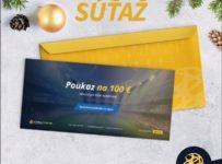 Súťaž o 100-eurovú darčekovú poukážku od FutbalTour