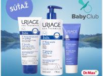 Súťaž o 3 balíčky francúzskej kozmetiky pre bábätká značky Uriage Bébé