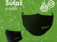 Súťaž o 5 ochranných rúšok so strieborným vláknom ušitých na Slovensku