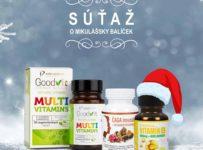 Súťaž o Mikulášsky balíček výživových doplnkov pre zdravie a imunitu
