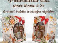 Súťaž o darčeková balenie so sladkými mlynčekmi na kávu a dezerty