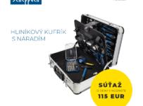 Súťaž o hliníkový kufrík s náradím v hodnote 115€