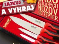 Súťaž o kvalitnú súpravu nožov ZEPTER