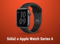Súťaž o nové Apple Watch Nike Series 6
