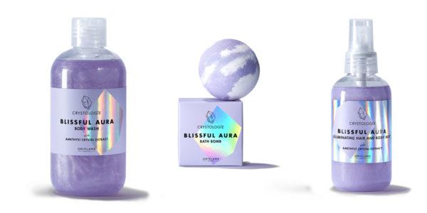 Súťaž o produkty radu Crystologie Blissful Aura od Oriflame
