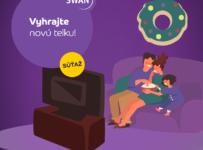 Súťaž o smart televíziu 32''