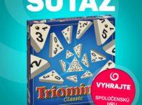 Súťaž o spoločenskú hru TRIOMINOS