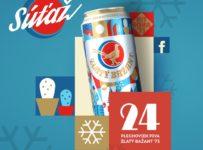 Súťaž o vianočnú zásobu piva Zlatý Bažant