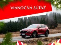 Súťaž o vianočný Mazda balíček