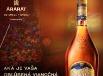 Súťaž o vianočný balíček od legendárnej arménskej brandy ARARAT