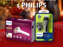 Súťaž o vianočný balíček produktov Philips Lumea a OneBlade