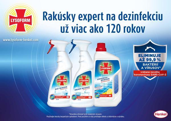 Súťaž s rakúskym expertom na dezinfekciu – značkou Lysoform