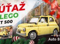 Veľká vianočná súťaž o LEGO Fiat 500