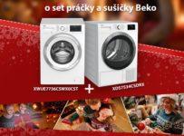Vianočná DOMOSS súťaž o Beko set práčky a sušičky bielizne