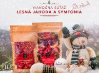 Vianočná súťaž Brix o veľké balenie mrazom sušených lesných jahôd