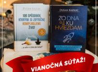 Vianočná súťaž o dve motivačné knihy