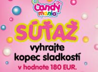 Vyhrajte kopec sladkostí od CANDY MANIA